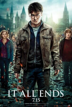 Harry Potter and the Deathly Hallows - Part 2 - Poster 4