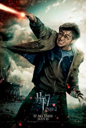 Harry Potter and the Deathly Hallows - Part 2 - Poster 8