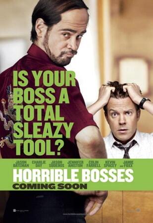 Horrible Bosses - Poster 1