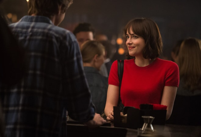 "DAKOTA JOHNSON as Alice in New Line Cinema's, Metro-Goldwyn-Mayer Pictures' and Flower Films' comedy ""HOW TO BE SINGLE,"" a Warner Bros. Pictures release."