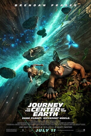 Journey to the Center of the Earth - Poster 1
