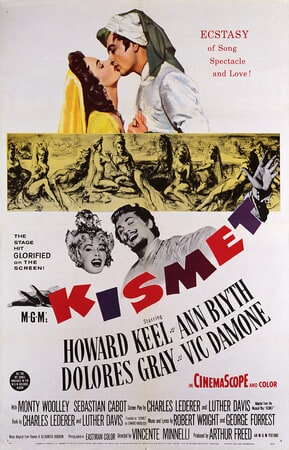 Kismet (1955) - Poster 1