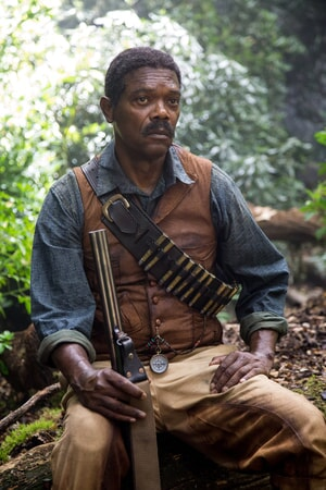 SAMUEL L. JACKSON as George Washington Williams