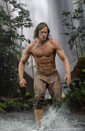 ALEXANDER SKARSGÅRD as Tarzan