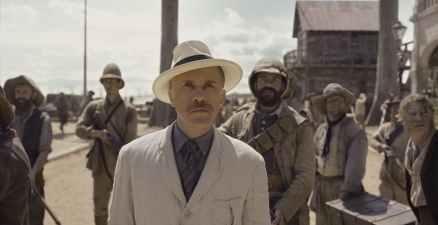 CHRISTOPH WALTZ as Leon Rom