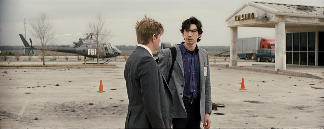 "PAUL SPARKS as Agent Miller and ADAM DRIVER as Sevier in director Jeff Nichols' sci-fi thriller ""MIDNIGHT SPECIAL,"""
