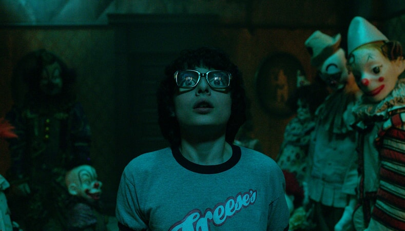 "FINN WOLFHARD as Richie Tozier in New Line Cinema's horror thriller ""IT,"" a Warner Bros. Pictures release."