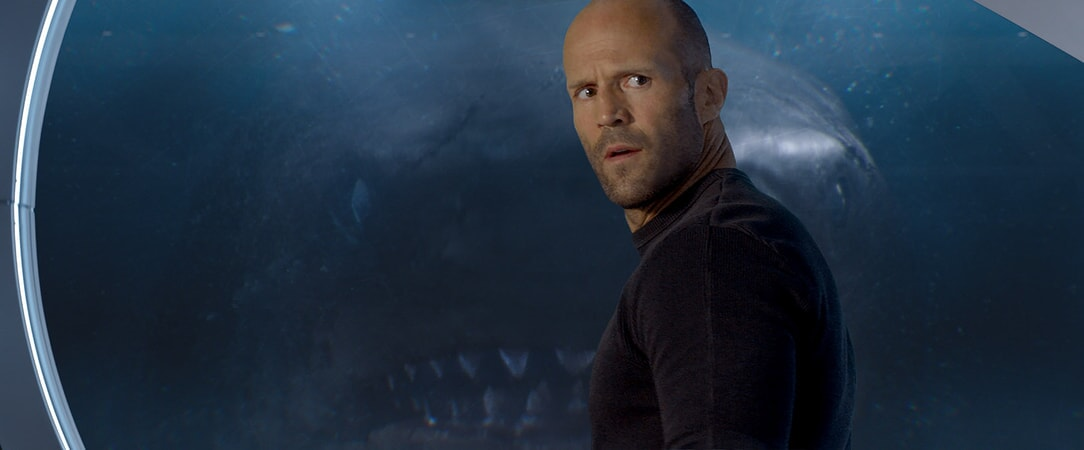 Jason Statham and in The Meg