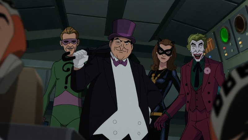 batman return of the caped crusaders new animated film