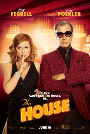The House poster with Amy Poehler and Will Ferrell in formal attire