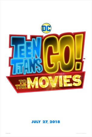 Teen Titans GO! To the Movies logo on white background