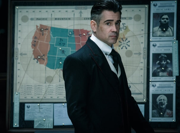 """COLIN FARRELL as Graves in Warner Bros. Pictures' fantasy adventure """"FANTASTIC BEASTS AND WHERE TO FIND THEM,"""" a Warner Bros. Pictures release."""
