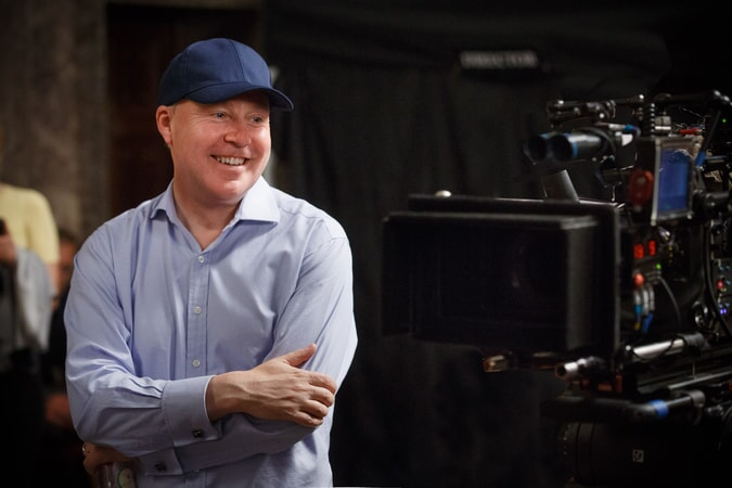 """Director DAVID YATES on the set of Warner Bros. Pictures' fantasy adventure """"FANTASTIC BEASTS AND WHERE TO FIND THEM,"""" a Warner Bros. Pictures release."""
