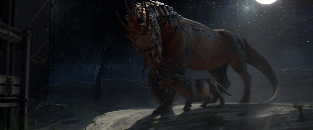 """beast called a Graphorn in a scene from Warner Bros. Pictures' fantasy adventure """"FANTASTIC BEASTS AND WHERE TO FIND THEM,"""" a Warner Bros. Pictures release."""