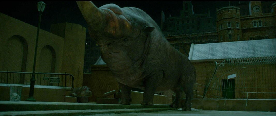 """A beast called an Erumpent in a scene from Warner Bros. Pictures' fantasy adventure """"FANTASTIC BEASTS AND WHERE TO FIND THEM,"""" a Warner Bros. Pictures release."""