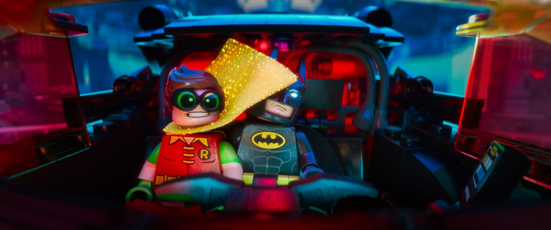 "LEGO(r) minifigures Robin (voiced by MICHAEL CERA) and Batman (voiced by WILL ARNETT) in the 3D computer animated adventure ""The LEGO(r) Batman Movie,"" from Warner Bros. Pictures and Ratpac-Dune Entertainment. A Warner Bros. Pictures release."