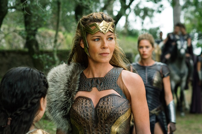 "CONNIE NIELSEN as Hippolyta in the action adventure ""WONDER WOMAN,"" a Warner Bros. Pictures release."