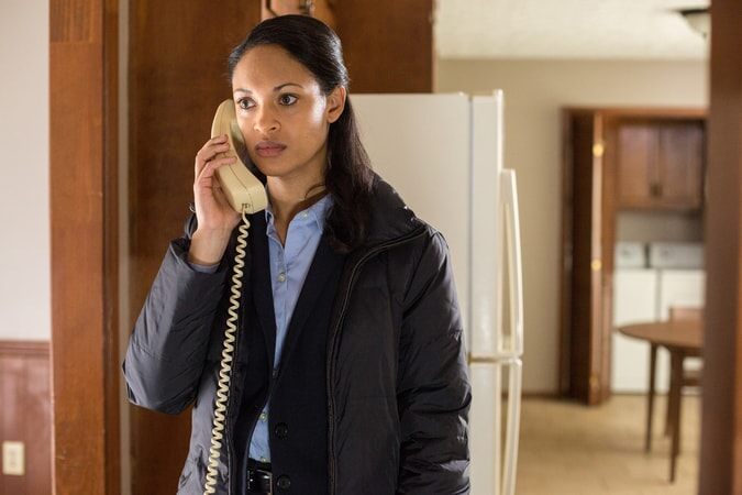 "CYNTHIA ADDAI-ROBINSON as Marybeth Medina in Warner Bros. Pictures' ""THE ACCOUNTANT,"" a Warner Bros. Pictures release."