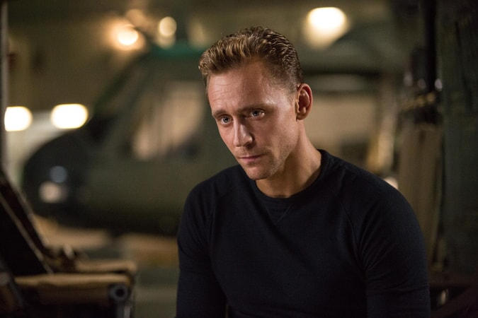 "TOM HIDDLESTON as James Conrad in Warner Bros. Pictures', Legendary Pictures' and Tencent Pictures' action adventure ""KONG: SKULL ISLAND,"" a Warner Bros. Pictures release."
