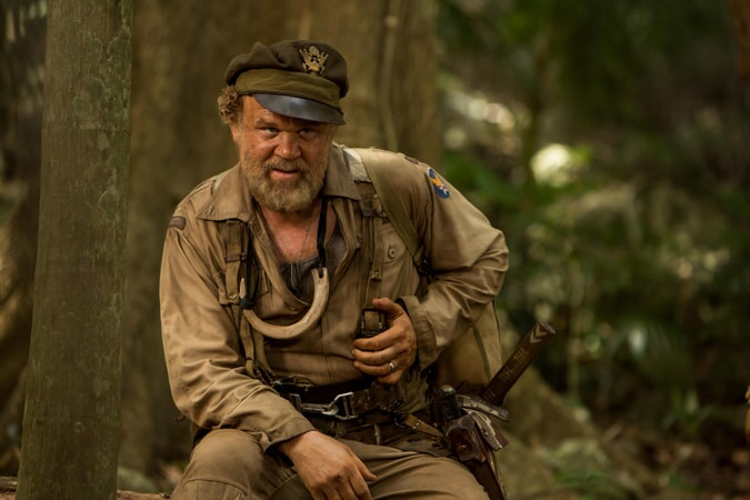 "JOHN C. REILLY as Hank Marlow in Warner Bros. Pictures', Legendary Pictures' and Tencent Pictures' action adventure ""KONG: SKULL ISLAND,"" a Warner Bros. Pictures release."