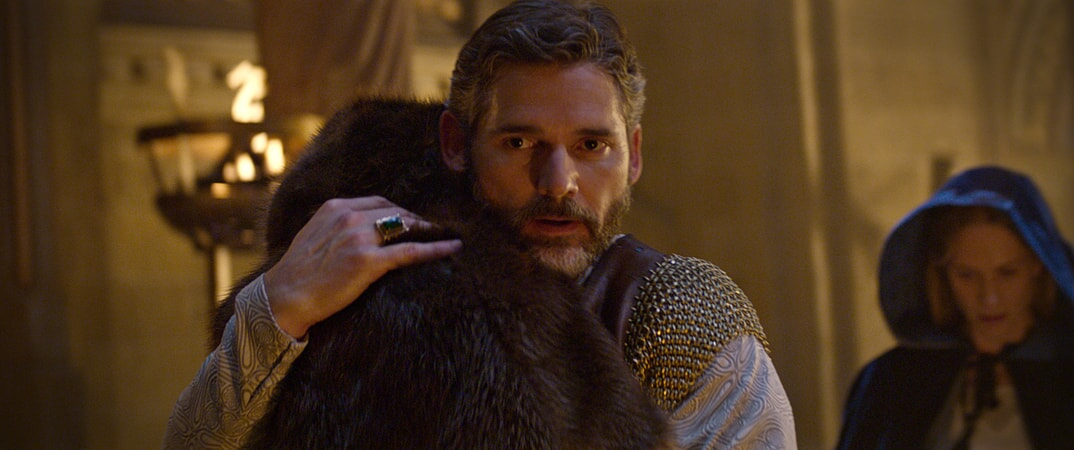 "ERIC BANA as Uther and POPPY DELEVIGNGE as Igraine in Warner Bros. Pictures' and Village Roadshow Pictures' fantasy action adventure ""KING ARTHUR: LEGEND OF THE SWORD,"" distributed worldwide by Warner Bros. Pictures and in select territories by Village Roadshow Pictures."