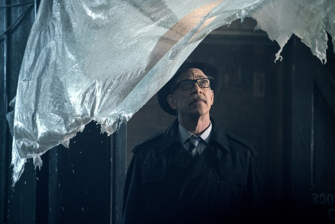 """J.K. SIMMONS as Commissioner Gordon in Warner Bros. Pictures' action adventure """"JUSTICE LEAGUE,"""" a Warner Bros. Pictures release."""