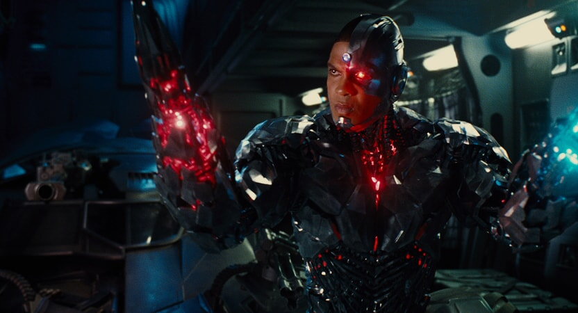 """RAY FISHER as Cyborg in Warner Bros. Pictures' action adventure """"JUSTICE LEAGUE,"""" a Warner Bros. Pictures release."""
