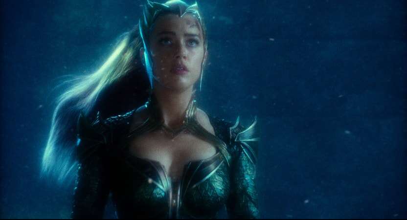 """AMBER HEARD as Mera in Warner Bros. Pictures' action adventure """"JUSTICE LEAGUE,"""" a Warner Bros. Pictures release."""