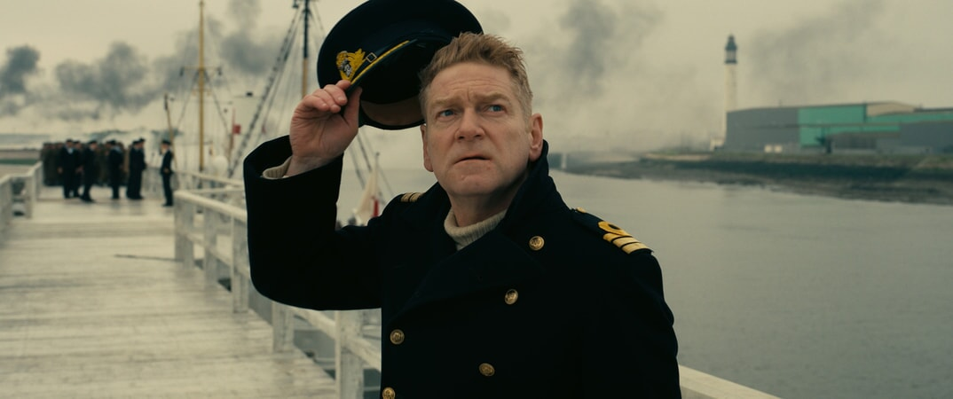 """KENNETH BRANAGH as Commander Bolton in the Warner Bros. Pictures action thriller """"DUNKIRK,"""" a Warner Bros. Pictures release."""