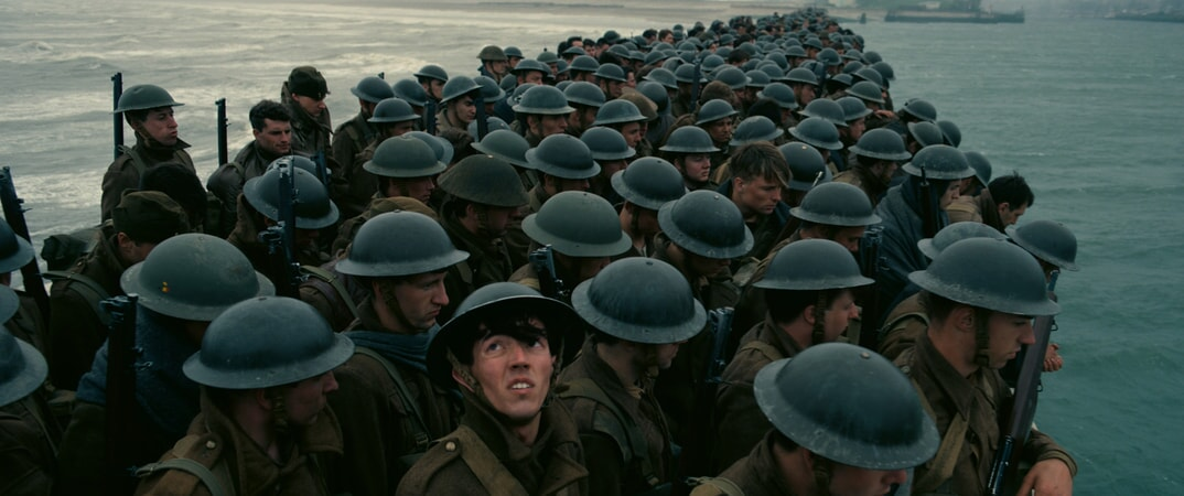 """A scene from Christopher Nolan's new epic action thriller """"DUNKIRK,"""" a Warner Bros. Pictures release."""