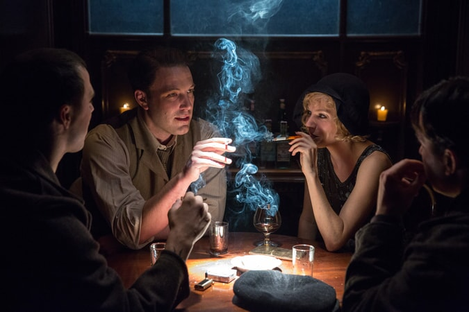 """BEN AFFLECK as Joe Coughlin and SIENNA MILLER as Emma Gould in Warner Bros. Pictures' dramatic crime thriller """"LIVE BY NIGHT,"""" a Warner Bros. Pictures release."""