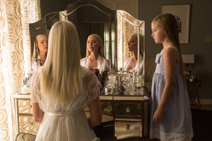 """KATHERINE HEIGL as Tessa Connover and ISABELLA KAI RICE as Lily Connover in Warner Bros. Pictures' dramatic thriller """"UNFORGETTABLE,"""" a Warner Bros. Pictures release."""