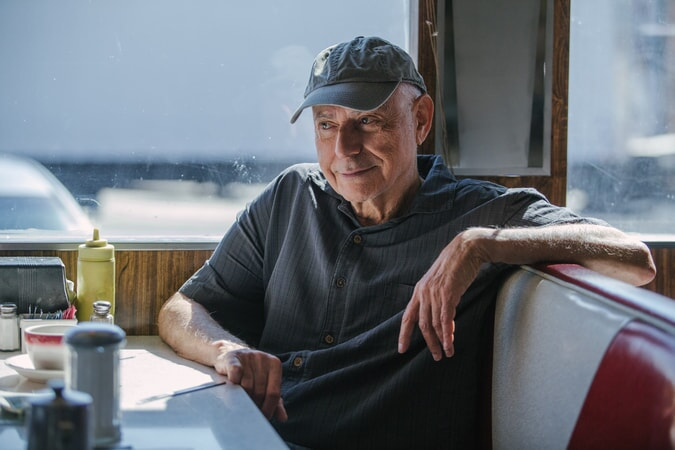 "ALAN ARKIN as Albert Garner in the New Line Cinema and Village Roadshow comedy ""GOING IN STYLE,"" a Warner Bros. Pictures release."