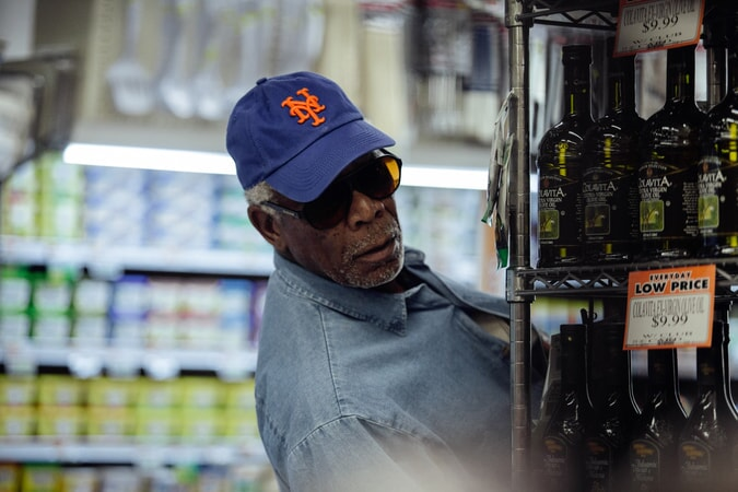 "MORGAN FREEMAN as Willie Davis in the New Line Cinema and Village Roadshow comedy ""GOING IN STYLE,"" a Warner Bros. Pictures release."