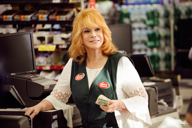 "ANN-MARGRET as Annie Santori in the New Line Cinema and Village Roadshow comedy ""GOING IN STYLE,"" a Warner Bros. Pictures release."
