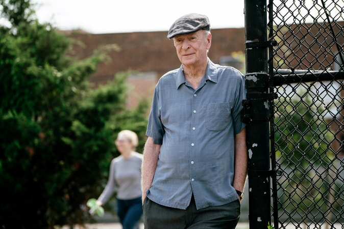 "MICHAEL CAINE as Joe Harding in the New Line Cinema and Village Roadshow comedy ""GOING IN STYLE,"" a Warner Bros. Pictures release."