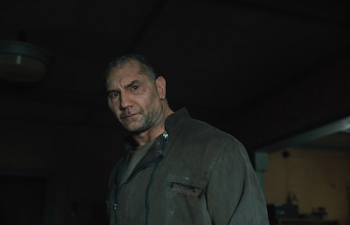 "DAVE BAUTISTA as Sapper Morton in Alcon Entertainment's action thriller ""BLADE RUNNER 2049,"" a Warner Bros. Pictures and Sony Pictures Entertainment release, domestic distribution by Warner Bros. Pictures and international distribution by Sony Pictures."