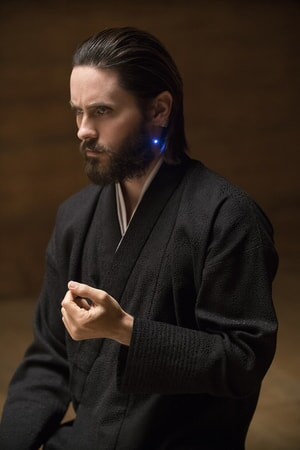 "JARED LETO as Niander Wallace in Alcon Entertainment's action thriller ""BLADE RUNNER 2049,"" a Warner Bros. Pictures and Sony Pictures Entertainment release, domestic distribution by Warner Bros. Pictures and international distribution by Sony Pictures."