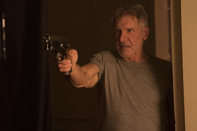 "HARRISON FORD as Rick Deckard in Alcon Entertainment's action thriller ""BLADE RUNNER 2049,"" a Warner Bros. Pictures and Sony Pictures Entertainment release, domestic distribution by Warner Bros. Pictures and international distribution by Sony Pictures."