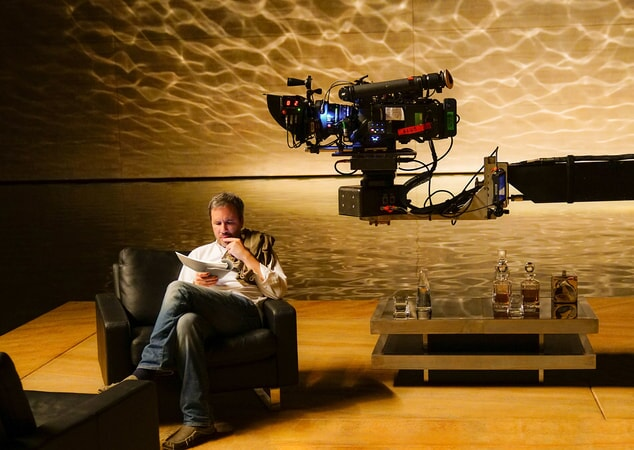 "Director DENIS VILLENEUVE on the set of Alcon Entertainment's action thriller ""BLADE RUNNER 2049,"" a Warner Bros. Pictures and Sony Pictures Entertainment release, domestic distribution by Warner Bros. Pictures and international distribution by Sony Pictures."