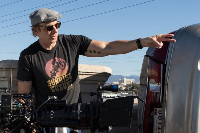 """Writer/director/star DAX SHEPARD behind the scenes on Warner Bros. Pictures' action comedy """"CHIPS,"""" a Warner Bros. Pictures release."""