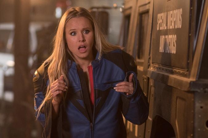 """KRISTEN BELL as Karen in Warner Bros. Pictures' action comedy """"CHIPS,"""" a Warner Bros. Pictures release."""