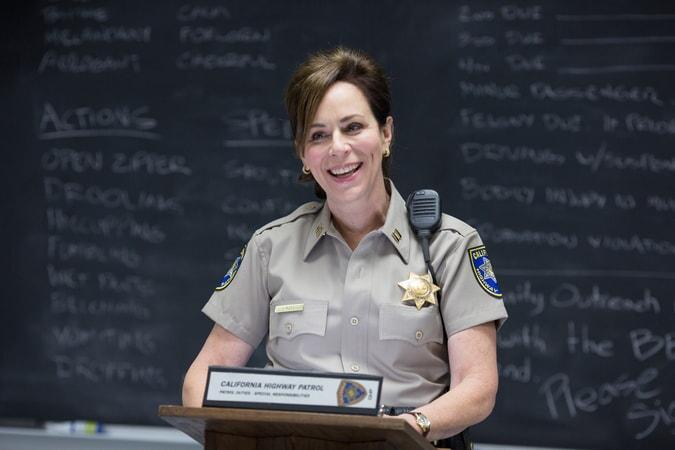 "JANE KACZMAREK as Captain Jane Lindel in Warner Bros. Pictures' action comedy ""CHIPS,"" a Warner Bros. Pictures release."