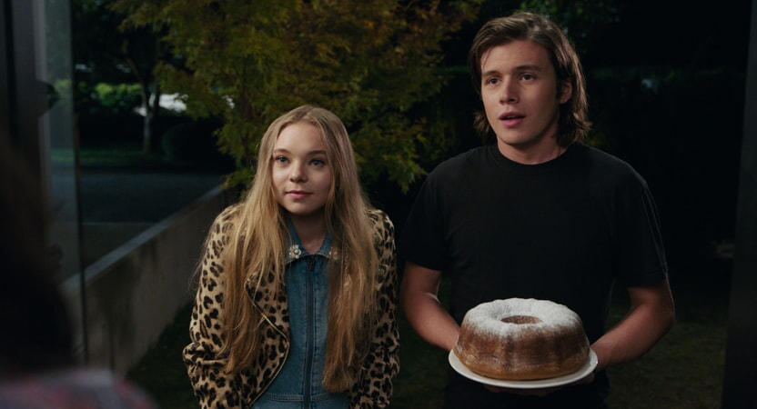 """TAYLOR HICKSON as Kayra and NICK ROBINSON as Olly in the Warner Bros. Pictures and Metro-Goldwyn-Mayer Pictures romantic drama """"EVERYTHING, EVERYTHING,"""" a Warner Bros. Pictures release."""