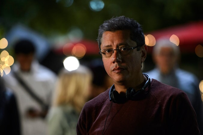 "Director DEAN DEVLIN on the set of Warner Bros. Pictures' and Skydance's suspense thriller ""GEOSTORM,"" a Warner Bros. Pictures release."