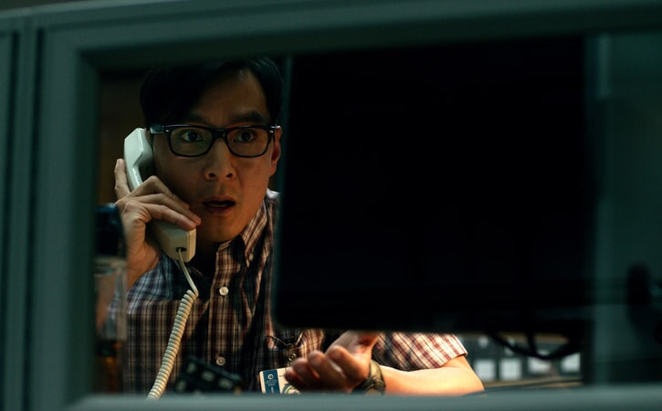 "DANIEL WU as Cheng Long in Warner Bros. Pictures' and Skydance's suspense thriller ""GEOSTORM,"" a Warner Bros. Pictures release."
