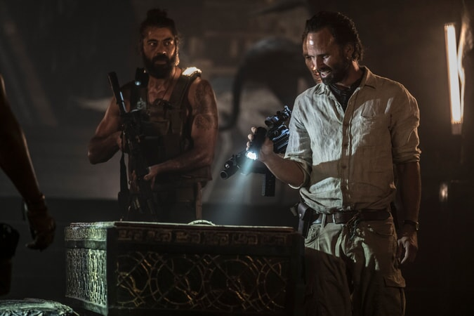 """(Right) WALTON GOGGINS as Mathias Vogel in Warner Bros. Pictures' and Metro-Goldwyn-Mayer Pictures' action adventure """"TOMB RAIDER,"""" a Warner Bros. Pictures release."""