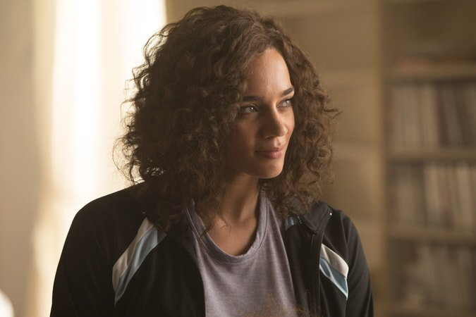 """HANNAH JOHN-KAMEN as Sophie in Warner Bros. Pictures' and Metro-Goldwyn-Mayer Pictures' action adventure """"TOMB RAIDER,"""" a Warner Bros. Pictures release."""