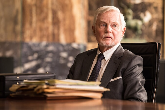 """DEREK JACOBI as Mr. Yaffe in Warner Bros. Pictures' and Metro-Goldwyn-Mayer Pictures' action adventure """"TOMB RAIDER,"""" a Warner Bros. Pictures release."""