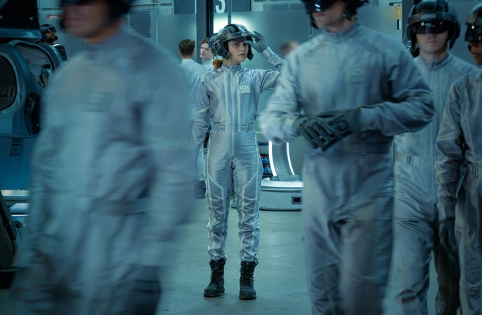 """OLIVIA COOKE as Samantha in Warner Bros. Pictures', Amblin Entertainment's and Village Roadshow Pictures' action adventure """"READY PLAYER ONE,"""" a Warner Bros. Pictures release."""